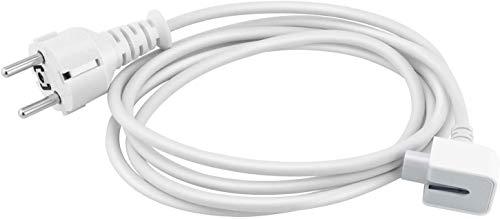 Cable de extensión del Cargador MacBook de 1,8 m Compatible con el Cargador MacBook para MagSafe, iBook, iPhone, Todos los Cargadores MacBook