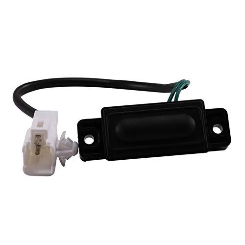 ZIS Interruptor de Tronco Trasero Interruptor de Arranque Interruptor de Inicio Tapa Trasero Tronco Interruptor de Apertura Interruptor Ajuste para Suzuki Swift / SX4 37178-62J00-000 (Color : Black)