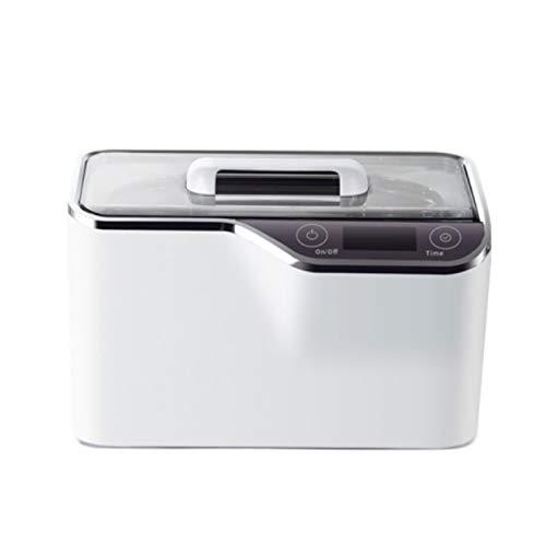 Limpiador ultrasónico, limpiador de joyas 42KHZ 800ml Limpiador ultrasónico, con rejilla de limpieza, marco de reloj, limpieza integral, sincronización inteligente Limpiar gafas, joyas, relojes, den
