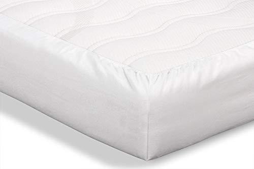 Beter Bed Molton voor Matras - 100% Katoen - Vochtabsorberend en Ventilerend - 90 x 210/220 x 30 cm