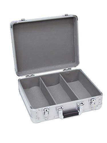 Roadinger 30122056 - Caja para guardar CD (aluminio)
