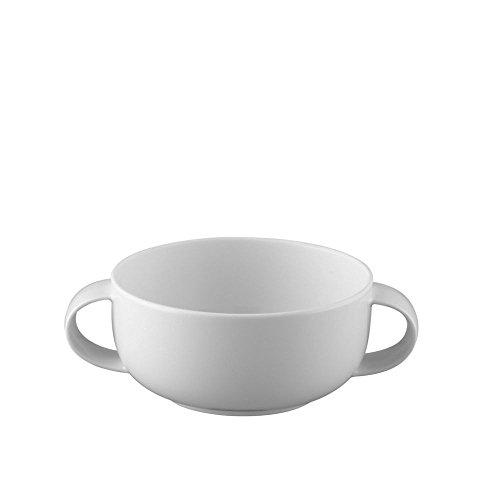 Rosenthal - Suomi - Suppen-Obertasse - Porzellan - Weiß - 0,3 l