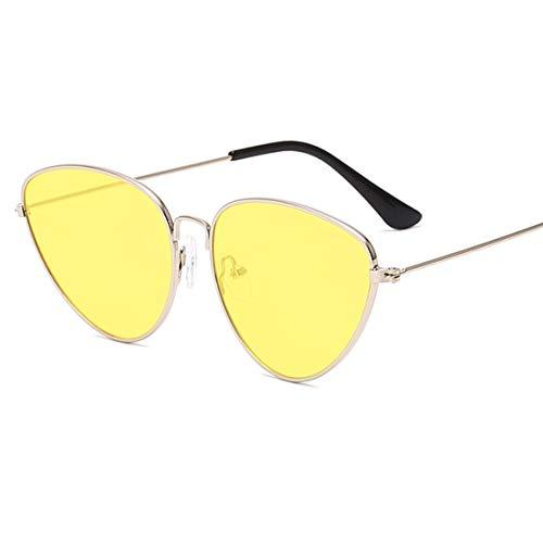 Nortongrace Novelty Cat Eye Women Sonnenbrillen Farbtöne Vintage Shape Sun Glasses Women Eyewear 70S Luxe Red Weibliche Sonnenbrille Uv400(None A)
