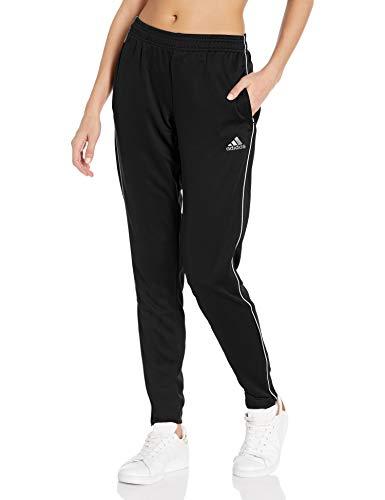 adidas Women's Core 18 Training Pants, Black/White, Small