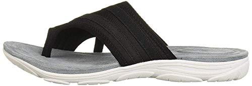 Easy Spirit Women's Lola2 Sport Sandal, Black 001, 7.5 Wide