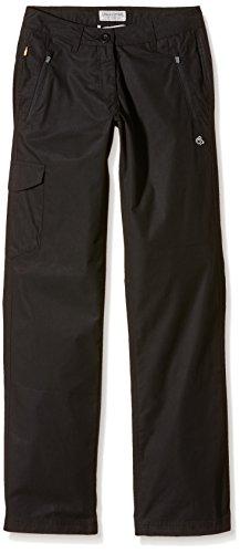 Le Duc D'Édimbourg Pantalon traverse, Femme, Traverse, Noir, Longueur de jambe 29, 42 EU
