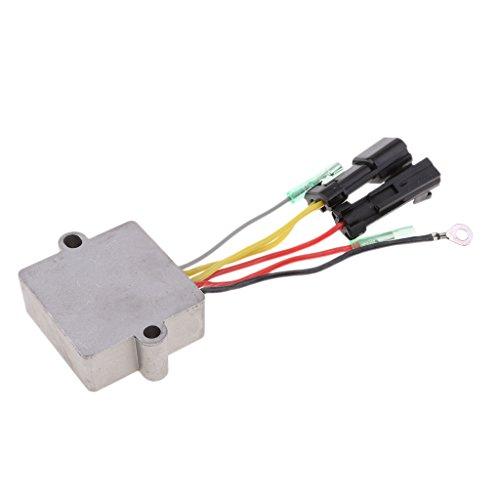 IPOTCH Regulador para Mercury Marine 6 Cables con Conectores 883072T2