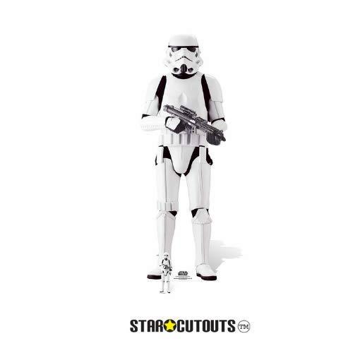 Star Wars Offizielle Ausschnitte, Pappe, Imperialer Stormtrooper, 180 x 63 x 180 cm