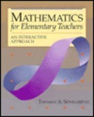 Mathematics for Elementary Teachers: An Interactive Approach