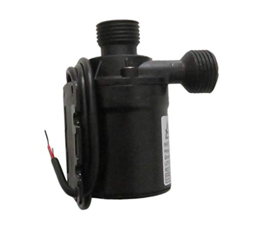 Rllyer Mini 12V Brushless Water Pump 1/2'' Male Thread Centrifugal Submersible Pump 800L/H 210GPH 5M/16ft Fit for Fountain Solar Panel Pond Aquarium Water Circulation System