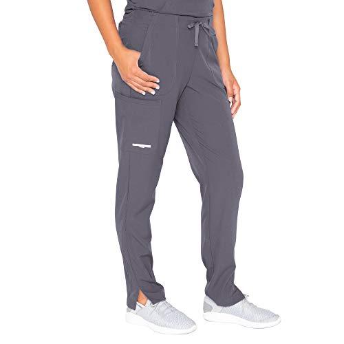 BARCO Skechers Vitality Women's Charge 4-Pocket Scrub Pant - Pewter, Petite L