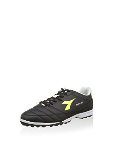 Diadora Fußballschuh Italica Goal R Tf schwarz/weiß/gelb EU 40 (6.5 UK)