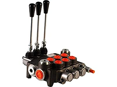 3 spool hydraulic directional control valve 11gpm, monoblock, cast iron, BSP ports from Badestnost