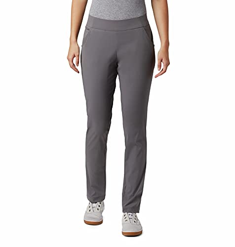 Columbia Women's Misses Anytime Casual Pull On Pant, City Grey, Small