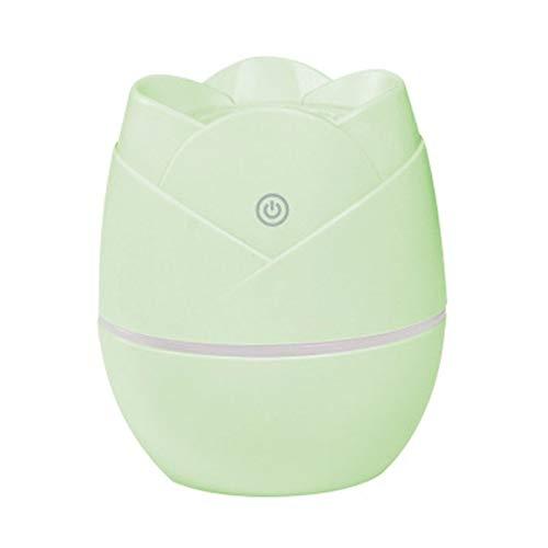 YSSWJ Ysswjzz Luftbefeuchter Ultraschall, Luftreiniger for Zimmer bis 25m², Vernebler for Schlafzimmer, Wohnzimmer gegen trockene Luft (Color : Green)