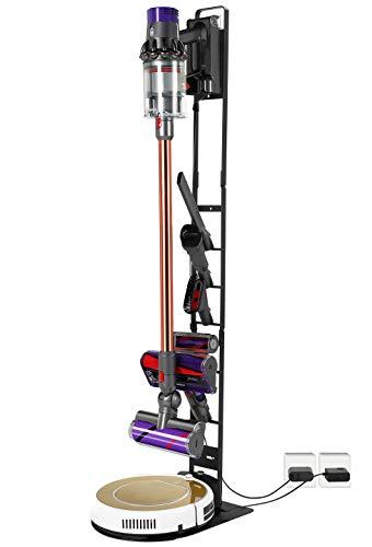 Kyrio - Supporto per aspirapolvere Dyson e Robot, compatibile con aspirapolvere Dyson e Robot, colore: Nero
