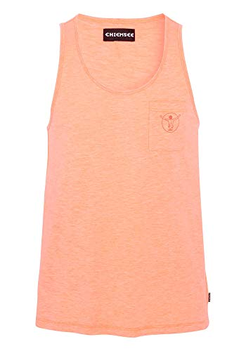 Chiemsee Herren Tank Top Men Achselshirts, Neon Orange, XL