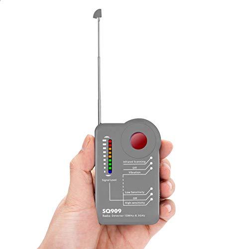 Bug Detector Detector de señal de RF inalámbrico Detector de señal de cámara GPS de Error, para cámara Oculta Dispositivo de Escucha gsm Radar GPS Escáner de Radio Buscador