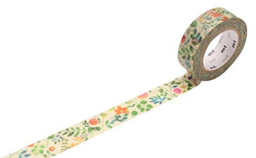 """MT cinta adhesiva MT ex""""flor de la acuarela"""" Cinta adhesiva del washi"""