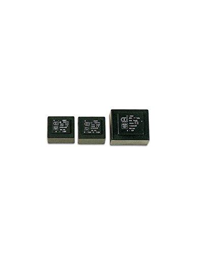 Perel 139102 Print Transformateur, 5 VA, 2 x 12 V, 2 x 0.209 Amp