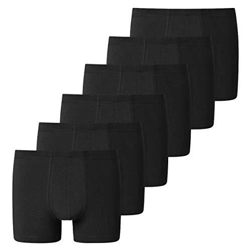 Schiesser - 95/5 Essentials - Shorts/Pants - 173988-6er Spar-Pack (6 Schwarz)