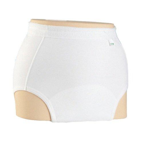 エンゼル ソフト防水パンツ ホワイト S 男女兼用 [尿とりパッド併用]