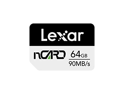 Lexar nCARD 64GB NM Nano-Speicherkarte für Telefone Huawei (LNCARD-64GAMZN)