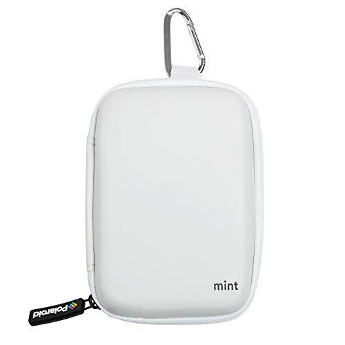 Polaroid Eva Tasche für Mint Sofortbildkamera & Drucker (weiß), Drucker + Eva Tasche