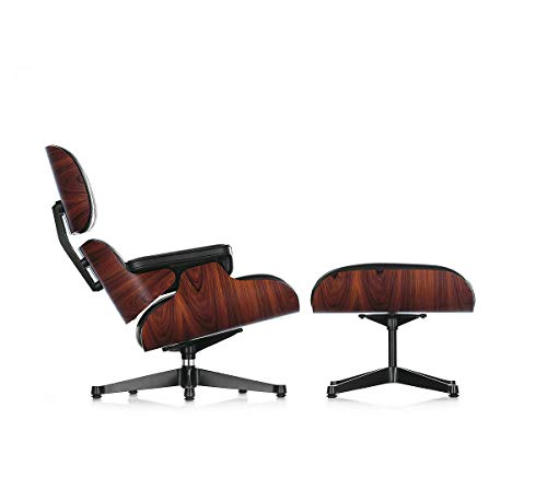 Vitra Loungesessel Chair & Ottoman Palisander