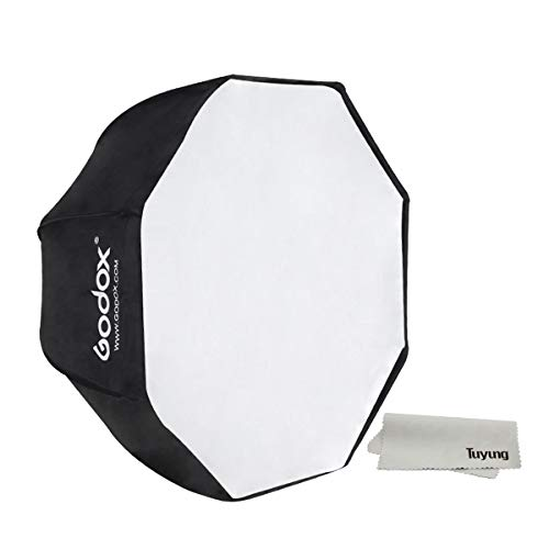 "Godox Portable 120cm/47.2"" Umbrella Octagon Softbox Reflector with Carrying Bag for Studio Photo Flash Speedlight"