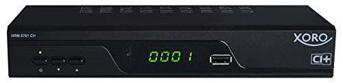 Xoro HRM 8761 CI+ Receiver (DVB-C/T2 HD, USB PVR, LAN) schwarz
