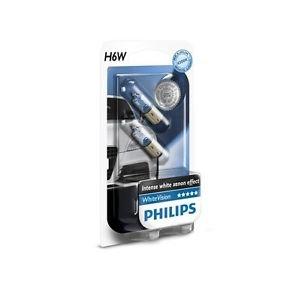 PHILIPS 12036WHVB2 H6W 12V 6W BAX9s WhiteVision Blue Xenon Optik Doppelblister