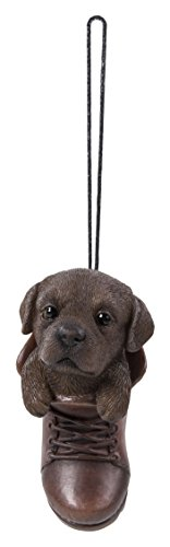 Hanging Pet Pals Vivid Arts – appeso Pet Pals – Hanging Boot Chocolate Labrador (hpp-b16-g)