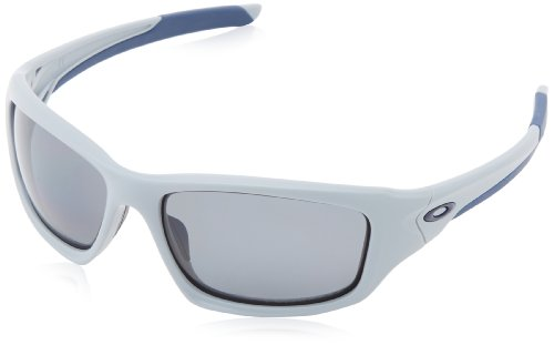 Oakley - Gafas de sol Rectangulares Valve, Matte Fog / Grey Polarized (S3)/Grey Polarized (S3)
