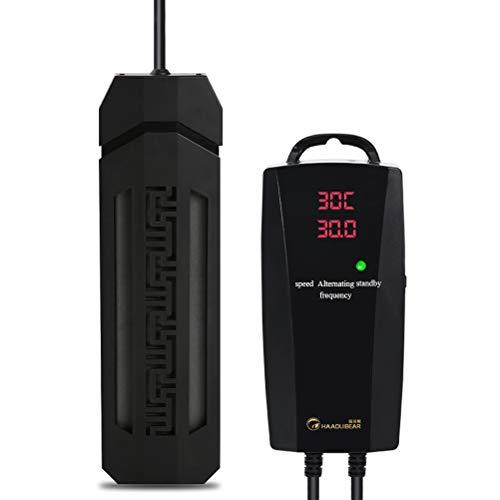 SPAQG 500w volledig onderdompelbare Aquarium Heater, Nieuwe Zelf Kalibratie Temperatuur Verschil Functie, 3c Power Plug, voor Zoetwater