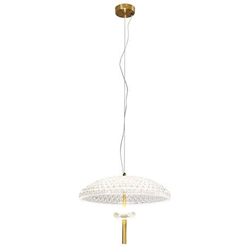CHENJUNAMZ Bar Bedside Chandelier Creative Fashion Klädaffärsfönster Glas Jellyfish Modelling Lamp 20cm * 26cm