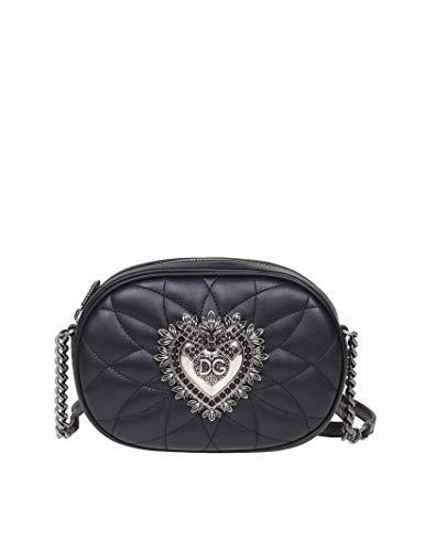 Luxury Fashion | Dolce E Gabbana Donna BB6704AA17280999 Nero Borsa A Spalla | Autunno Inverno 19