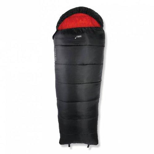 Gelert huddle-sac de couchage-enfant-noir/rouge-taille 1