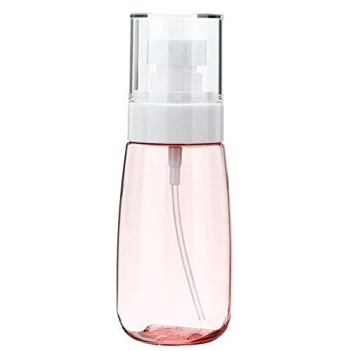 Spuitflessen, Akozon 80 ml U-vormige pomp Lege fles Reizen Hervulbare cosmetische make-up waterverstuiver voor essentiële oliën Reinigingsproducten of aromatherapie Parfum(Poederspray)