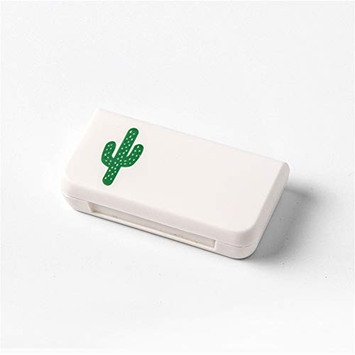 Drei Plaid Mini Pill Box tragbare Pille Box Reise Droge Verpackung Pille Box