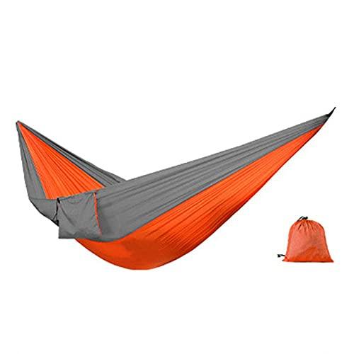 ZJSXIA Camping Double Hammock Appeso Portatile Swing Letto Leggero All'aperto per la casa Yard Relaxment Ornaments-A Amaca Giardino (Color : B)