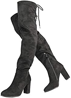 955181d73e5 Amazon.com: $25 to $50 - Over-the-Knee / Boots: Clothing, Shoes ...