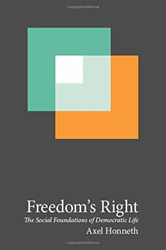 Freedom's Right: The Social Foundations of Democratic Life: 13