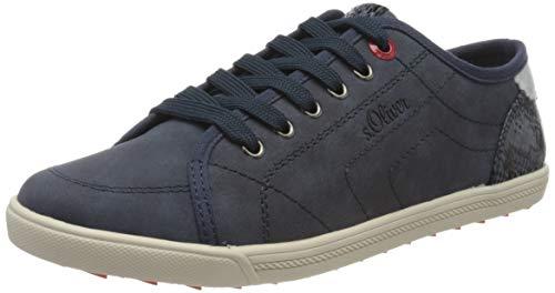 s.Oliver Damen 5-5-23631-24 Sneaker, Blau (Navy 805), 40 EU