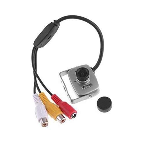 Heaviesk Mini Kamera Infrarot Nachtsicht Sicherheit Video Überwachungskamera 420 TV Linien CMOS Sensor 3.6mm Objektiv Camcorder