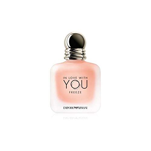 Armani, GIORGIO IN LOVE WITH YOU EAU DE PARFUM FREEZE 50ML VAPORIZADOR Unisex adulto, Negro, Único