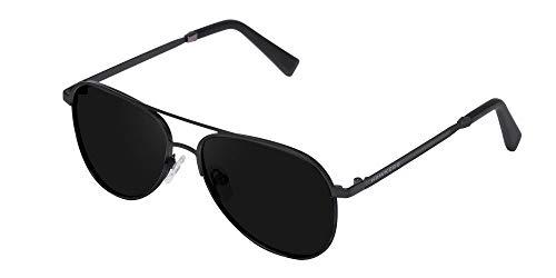 HAWKERS · Gafas de sol LACMA KIDS para niños y niñas · BLACK SILVER · DARK
