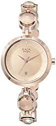 Titan Raga Viva Analog Rose Gold Dial Women's Watch NM2606WM02 / NL2606WM02,Titan,NL2606WM02