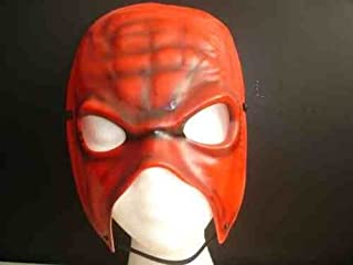 SOPHZZZZ TOY SHOP Kane Style Mask 2012 Return Version WWE Wrestling Costume Outfit Gear Suit Wrestlemania