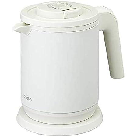 タイガー魔法瓶 電気ケトル 6 Safe 安心・安全機能 マットホワイト 0.8L PCK-A080WM